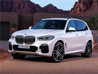 Всё в силе. BMW X5 от 40 000 рублей в месяц