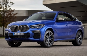 Хищник снаружи. Охотник внутри. BMW X6 от 46 000 рублей в месяц