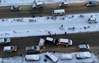 Хуже всего зимой на дорогах в Новосибирской области и Забайкалье, а наиболее благоприятная ситуация — в Москве и Тюмени.