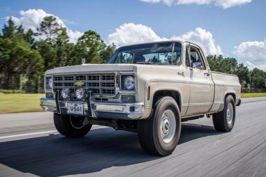 Из Chevrolet Silverado 70-х годов сделали 650-сильного монстра