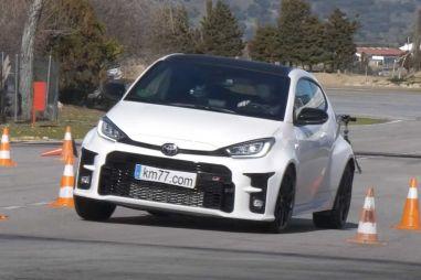 Toyota GR Yaris с отличием прошла «лосиный тест» (видео)