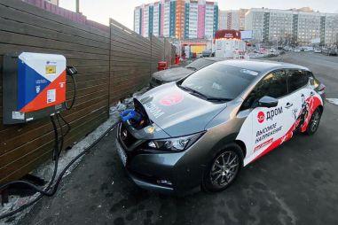 Количество электромобилей в России перевалило за 10 тысяч