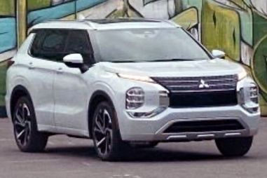 Mitsubishi сообщила о старте производства нового Outlander. Но саму машину продолжает держать в секрете