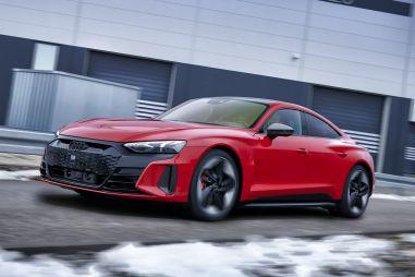 Audi представила свой первый электрический седан