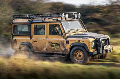 Land Rover на время вернет старый Дефендер в производство — в память о «Кэмел Трофи»