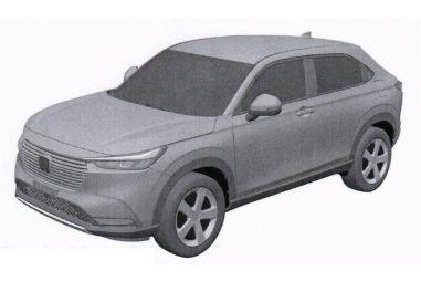 В Сети опубликовали первые фото Honda Vezel нового поколения
