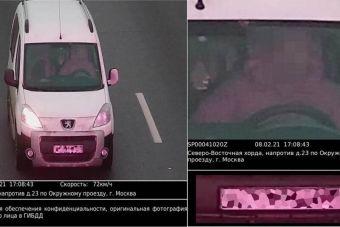 По камерам начали штрафовать даже пристегнутых водителей, если цвет одежды совпадает с цветом ремня