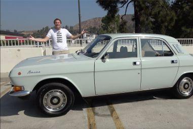 ВИДЕО: Волга привела в восторг популярного американского автоблогера