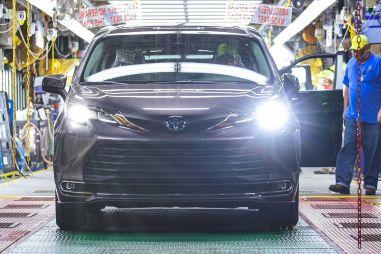 Toyota выпустила 30-миллионный автомобиль в США