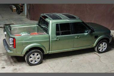 Land Rover Discovery превратили в пикап
