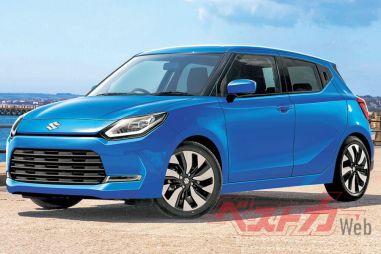 Новый Suzuki Swift появится летом 2022 года