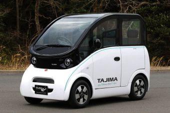 Японские нефтяники вложились в городской электромобиль