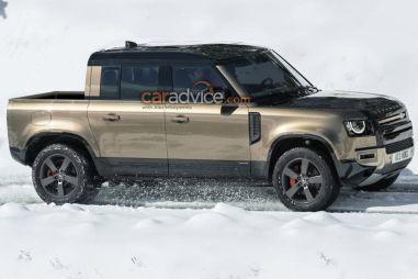 Land Rover сделает на базе нового Defender пикап