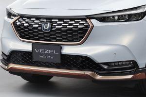 Honda представила заводской тюнинг для нового кроссовера Vezel