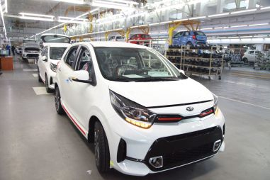 Рестайлинговый Kia Picanto стал на конвейер завода «Автотор» в Калининграде
