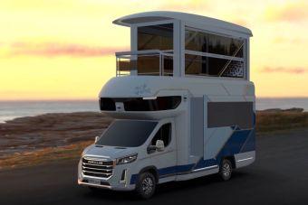 Принадлежащая ранее ГАЗу марка придумала двухэтажный автодом с лифтом и балконом