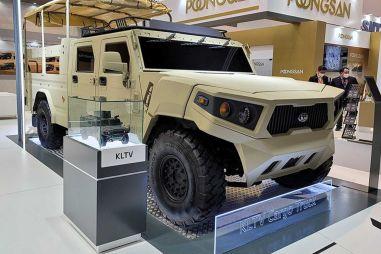 Kia разработала новый армейский внедорожник