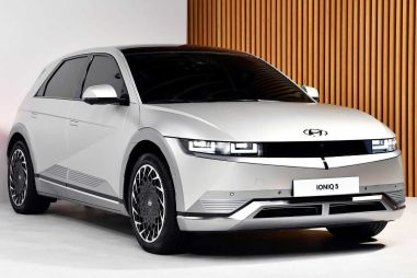 Hyundai представил первую серийную модель на электромобильной платформе E-GMP