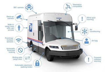 В США контракт на поставку фургонов для национальной почты достался оружейникам