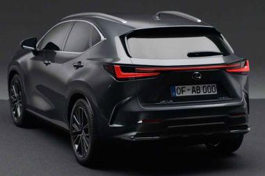 Lexus NX второго поколения показали раньше времени (ВИДЕО)