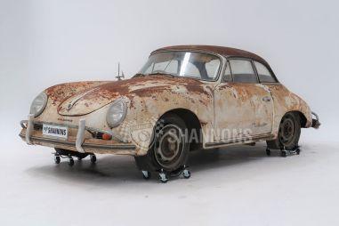 Найденный в сарае ржавый Porsche 1958 года ушел с молотка за 13,5 млн рублей