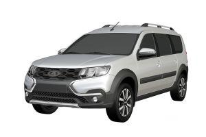 АвтоВАЗ зарегистрировал внешний вид нового Ларгуса Кросс