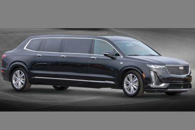 Из кроссовера Cadillac сделали лимузин… с отдельным багажником