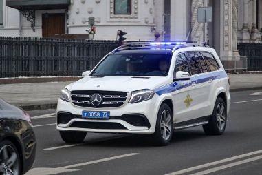 Роскошные автомобили российской полиции