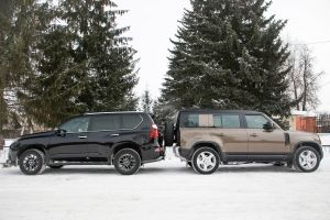 Land Rover Defender 110 против Lexus GX 460. Антитест