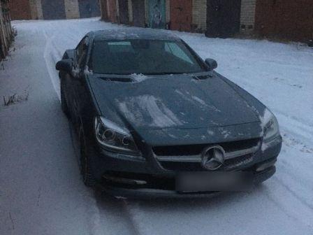 Mercedes-Benz SLK-Class 2013 - отзыв владельца