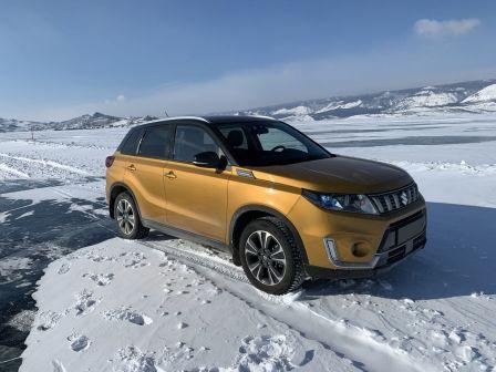 Suzuki Vitara 2020 - отзыв владельца
