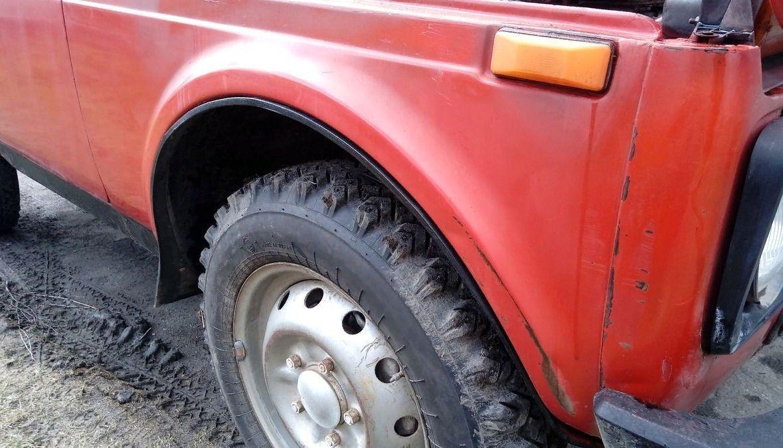 Резина ВЛИ-5 была куплена у соседа по 1 тысячи рублей за колесо