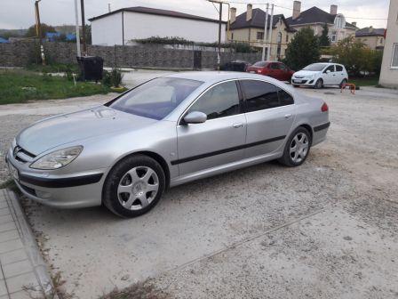Peugeot 607 2003 - отзыв владельца