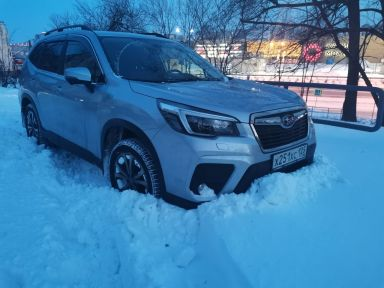 Subaru Forester 2020 отзыв автора | Дата публикации 08.02.2021.