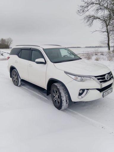 Toyota Fortuner 2018 отзыв автора | Дата публикации 28.02.2021.
