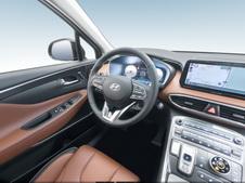 Hyundai Santa Fe 2020, 4 поколение, рестайлинг