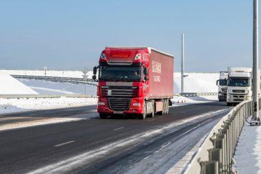 Запрет проезда транзитных грузовиков увеличил скорость движения по МКАД на 11%