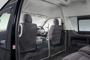 Toyota разработала быстровозводимую прозрачную перегородку для защиты от ковида