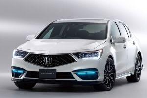 Обновленный седан Honda Legend первым в мире получил автопилот третьего уровня