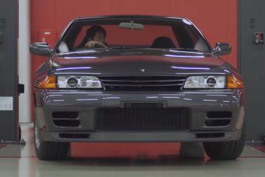 Nissan показал процесс заводской реставрации Skyline GT-R R32 на видео