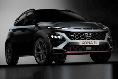 Hyundai показала мощный кросс-компакт Kona N