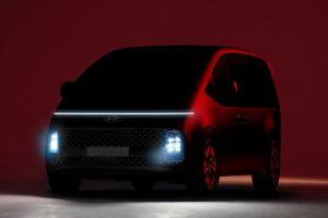Hyundai анонсировала новый вэн Staria