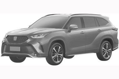 Toyota запатентовала в России спортвариант кроссовера Highlander