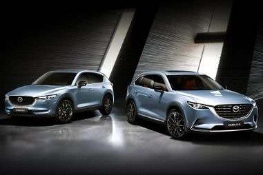 Mazda CX-5 и CX-9 обзавелись контрастной спецверсией Noir. Цены