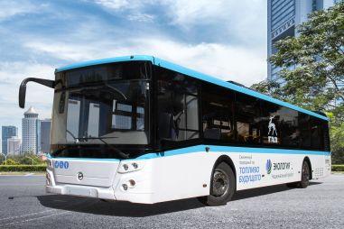 В России впервые начали производить автобусы на сжиженном (!) метане