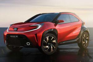 Новая Toyota Aygo: кроссовер с очень необычным дизайном (ВИДЕО)