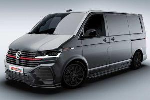Volkswagen представил новую версию Transporter в стиле GTI