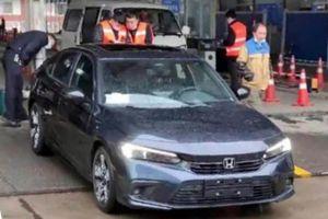 Седан Honda Civic следующего поколения: первые «живые» фото