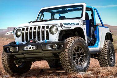 Jeep сделал из внедорожника Wrangler электрический концепт Magneto
