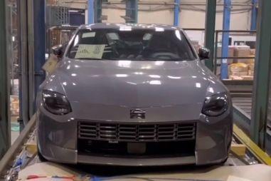 Долгожданное купе Nissan 400Z показалось в серийном обличье